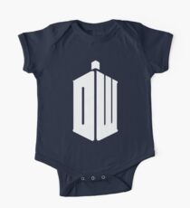 Dr Who DW One Piece - Short Sleeve