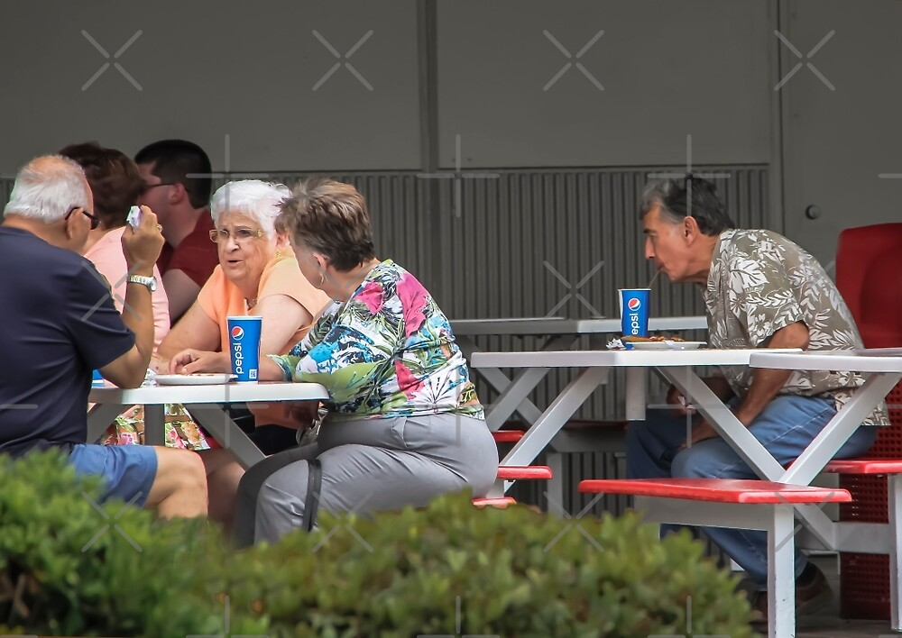 Lunch At Costco! by Heather Friedman
