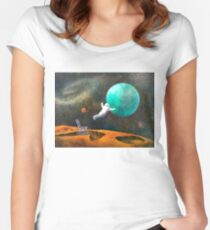 Overcoming Obstacles Women's Fitted Scoop T-Shirt