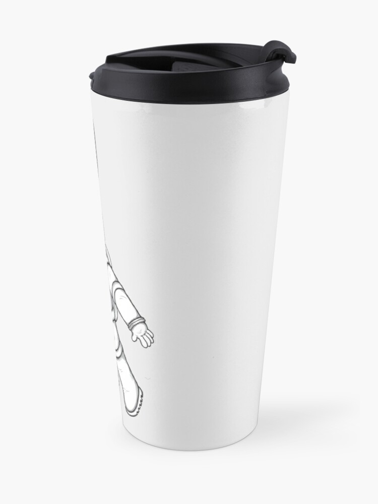 Alternate view of Greetings from space Travel Mug