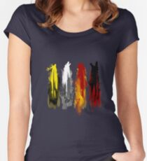 Westeros: Paint Women's Fitted Scoop T-Shirt