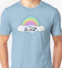 pandas and rainbow Unisex T-Shirt