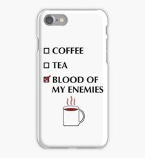 Blood of my Enemies iPhone Case/Skin