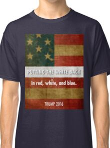 red, white and blue Classic T-Shirt