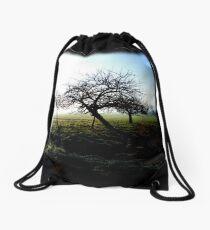 Apple Trees Drawstring Bag
