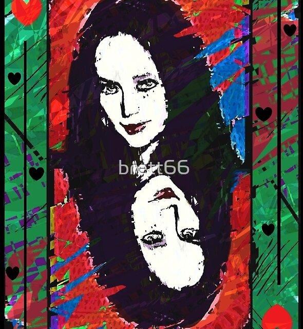 Morticia. The Queen Of Hearts. by brett66