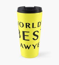 World's 2nd Best Lawyer - Better Call Saul Travel Mug