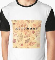 Autumnal Graphic T-Shirt