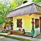 Colourful magic little house by kindangel
