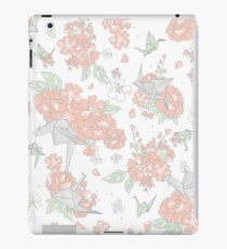 Origami Floral iPad Case/Skin