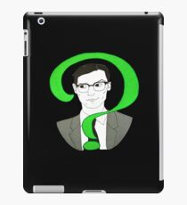 Edward Nygma Riddler iPad Case/Skin