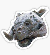 Tauntaun Head Sticker