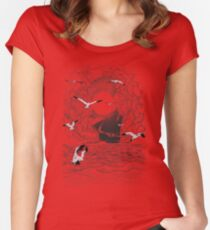 Before the Storm Women's Fitted Scoop T-Shirt
