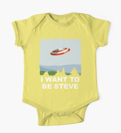 I Want To Be Steve Kids Clothes