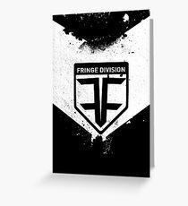 Fringe Division Greeting Card