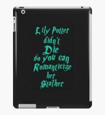 Lily Potter-Sea Green iPad Case/Skin