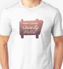 Gravity Falls: Now Leaving Unisex T-Shirt