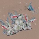 Snow Bunnyflies by justteejay