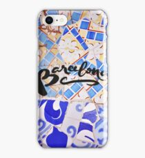 Barcelona Spain Gaudí Pattern Photography iPhone Case/Skin