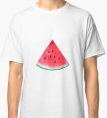 Juicy watermelon. Watercolor Tropical Fruit Classic T-Shirt