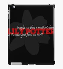Lily Potter Taught Me..... iPad Case/Skin
