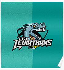 Liege leviathans quidditch - logo Poster
