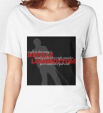 Neville Longbottom Taught Me..... Women's Relaxed Fit T-Shirt