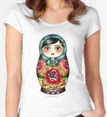 Matryoshka  Women's Fitted Scoop T-Shirt