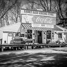 Rabbit Hash Store-Front View B&W by Mary Carol Story