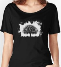 Contrast Women's Relaxed Fit T-Shirt