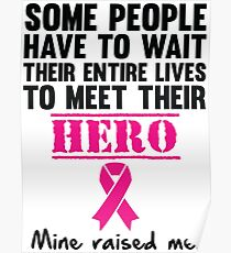Breast Cancer Hero Poster