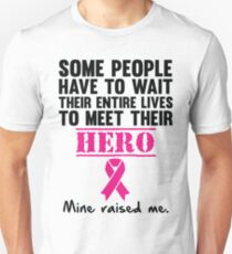 Breast Cancer Hero Unisex T-Shirt