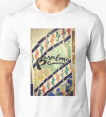 Barcelona Gaudi Work Modernism Park Güell  T-Shirt