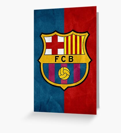 Fc Barcelona: Greeting Cards - Redbubble