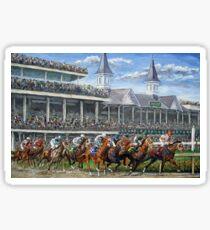 The Kentucky Derby - Churchill Downs Sticker