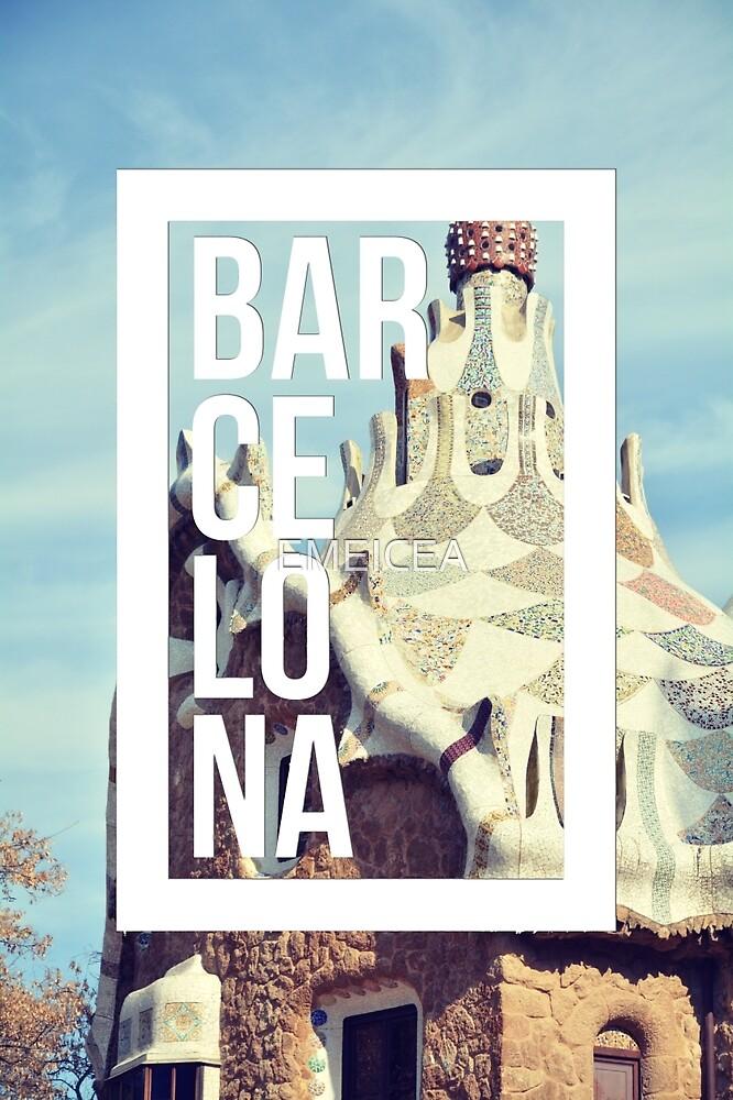 Barcelona Gaudi Work Modernism Park Güell by EMEICEA