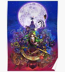 Majoras Mask 3D Poster