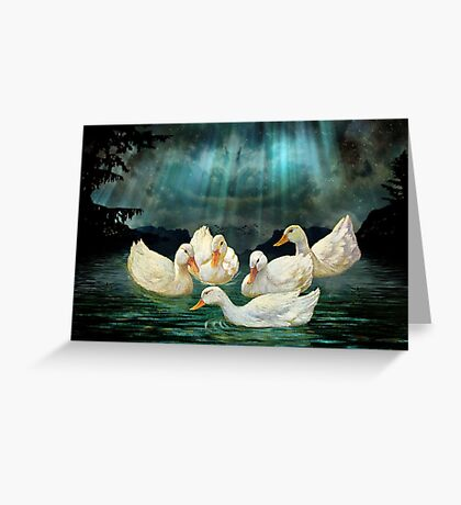 EVENING SOIREE Greeting Card