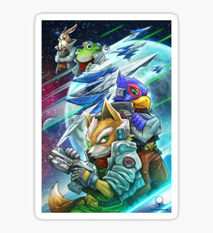 Space Animals Sticker