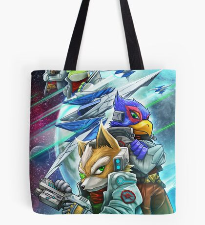 Space Animals Tote Bag