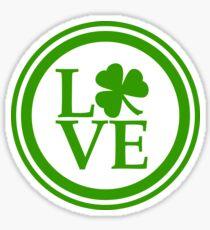 St Patrick - Love of all Irish Sticker