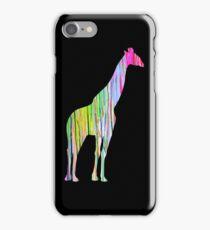 Giraffe Silhouette iPhone Case/Skin