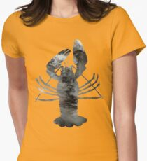 Crawfish Womens Fitted T-Shirt