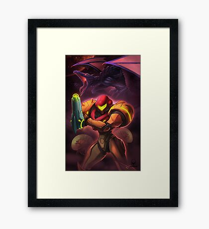 Another M Framed Print