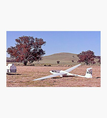 End of a great days Soaring. Corowa, Victoria. Photographic Print