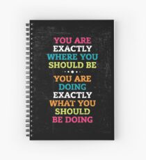 Words of Inspiration Spiral Notebook