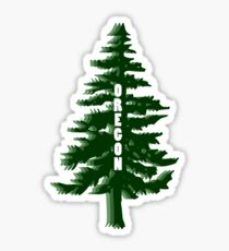 Pegatina Árbol de Oregon