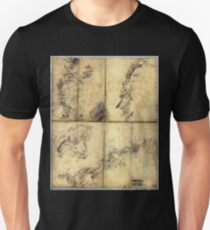 009  Five sketches along the Valley Pike in the vicinity of Fishers Hill Strasburg Cottontown Mount Hope Toms Brook etc T-Shirt