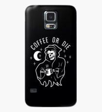 Funda/vinilo para Samsung Galaxy Coffee or Die