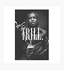 Trill - A$AP Photographic Print